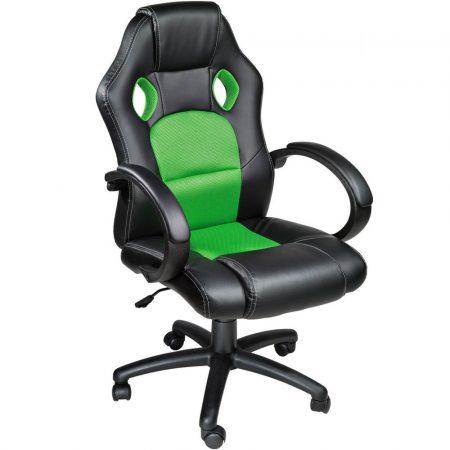 Scaun gamer Basic, Green-petreci mult timp pe internet -sa terminat cu articulatiile dureroase