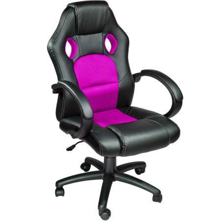 Scaun gamer Basic-roz