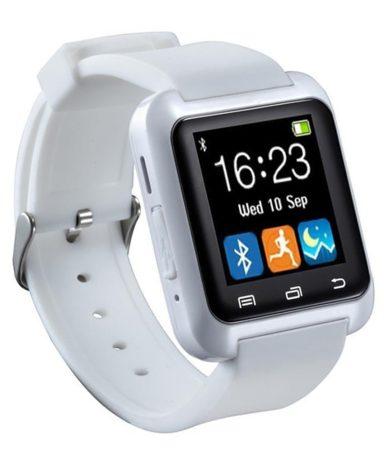 Alphaone pro watch white în engleză-chemare ,sms,facebook