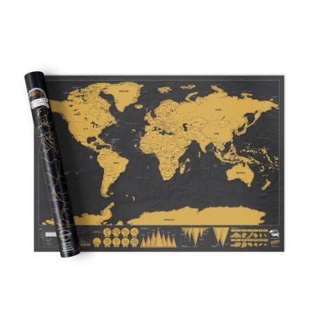 Scratch World Map Traveller - Oferă acestei hărți zgârietoare o șansă de a te inspira să explorezi lumea!