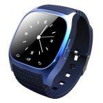 Ceas inteligent Alphaone M26 albastru meniu englez- Nu vrei să ratezi nimic? Notificări instantanee, player muzical.