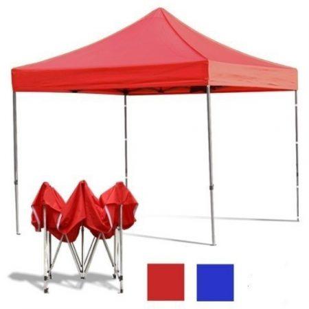 Pavilion pliabil 3*3 m- roșu
