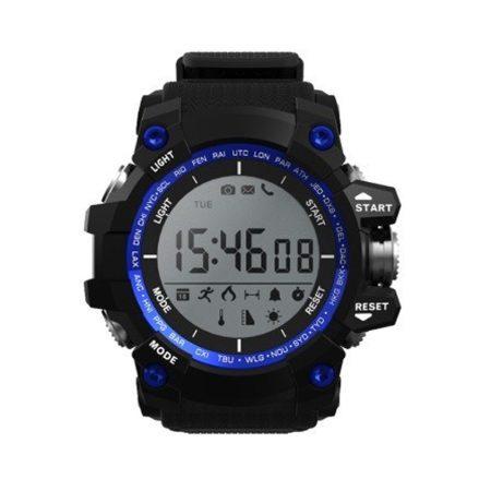 Ceas inteligent bass-o1 albastru  Un standard pentru omul cu adevărat atletic este măsurarea activității, notificările.