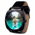 AlphaOne X3 ceas inteligent negru TRANSPORT GRATUIT - aspect elegant, aparat de fotografiat,montare sim, ascultare de muzică.
