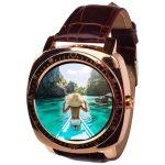 AlphaOne X3 ceas inteligent auriu TRANSPORT GRATUIT - aspect elegant, aparat de fotografiat,montare sim, ascultare de muzică.