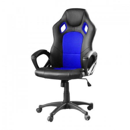 Scaun gamer Basic- albastru