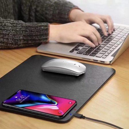Încărcător de mouse wireless Qi pentru încărcător mobil
