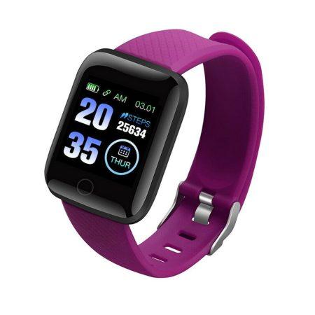 ID116 Plus Purple Smart Bracelet Transport gratuit!-Sport și numărare? Atunci asta este pentru tine!