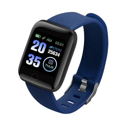 Brățară inteligentă albastru ID116 Plus Transport gratuit! - Aplicație telefonică în limba engleza, contor de activite,aparat foto