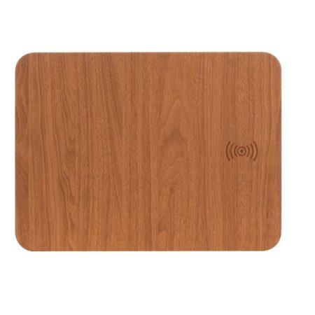 Mousepad  qi captusită din lemn-inlocuiti cablurile de incarcare