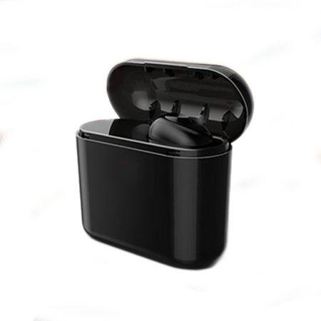 Căști pluggy negre + Powerbank 700Mah cadou !!