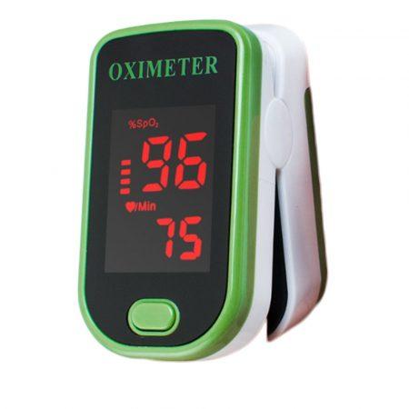Pulsulximetru Contor de oxigen în sânge - Un dispozitiv mic cu afișaj LCD pe care îl puteți lua oriunde aveți.