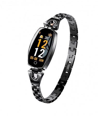 Ceas inteligent pentru femei Luxardo (H8)-negru