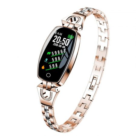 Ceas inteligent pentru femei luxardo (H8)- auriu