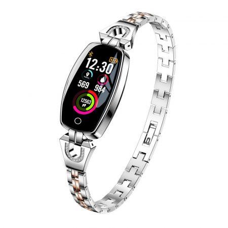 Ceas inteligent pentru femei Luxardo (H8) -argintiu