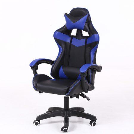 Scaun RACING PRO X-albastru-negru