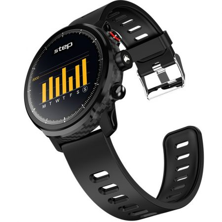 Smartwatch alphaone l5 negru-functii inteligente