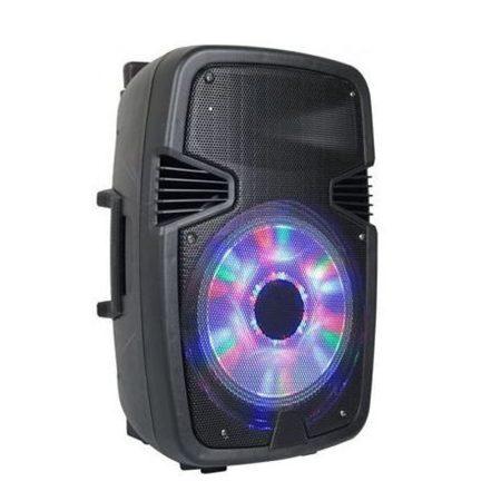 6008W Difuzor bluetooth fără fir alphaone w6 portabil cu lumină de spirit led încorporată - cadou cu microfon wireless + telecomandă!
