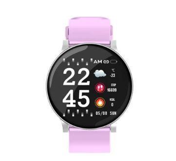 """S9 Smartwatch pink - Cel mai recent produs din seria """"s"""", cu camera încorporată și ecran imens."""