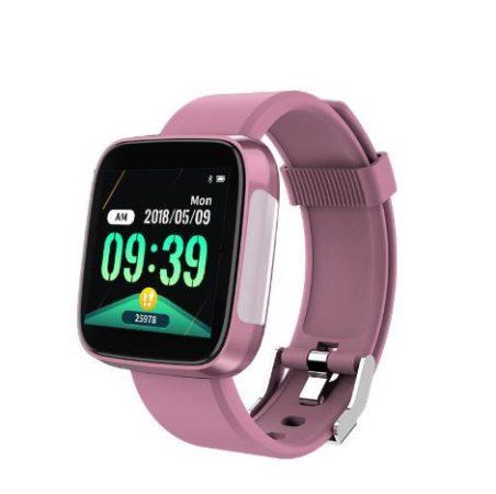Brățară inteligentă T5 la preț introductiv roz, brățară multifuncțională de fitness pentru a nu ține pasul cu nimic în timpul exercițiului.