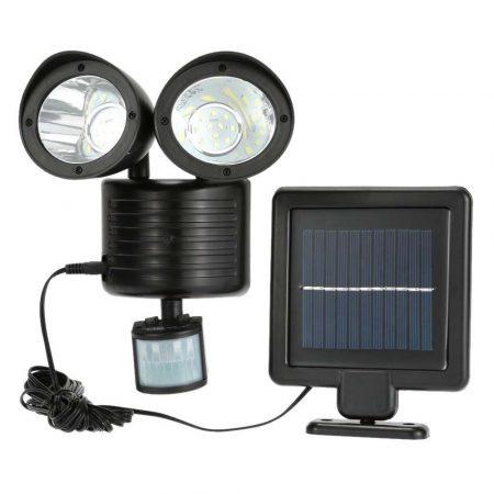 Lumină cu senzor de mișcare alimentat solar