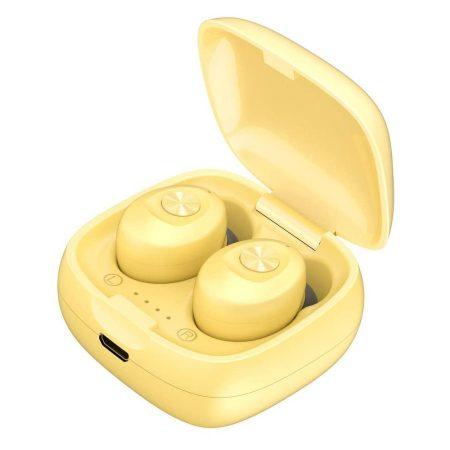 Căști XG12 TWS 5.0 culoare galbena