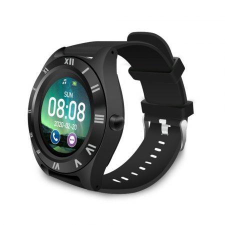 M11 Smartwatch , curea neagră