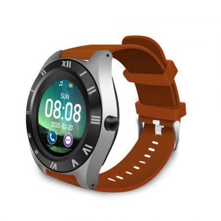 M11 Smartwatch , curea maro