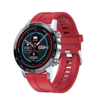 L16 PREMIUM Smartwatch - argintiu