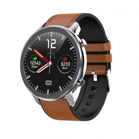 L11 SLIM Smartwatch - argintiu