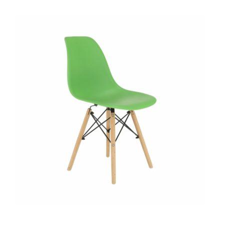 4 buc scaune moderne de bucătărie, sufragerie sau pentru exterior- verde