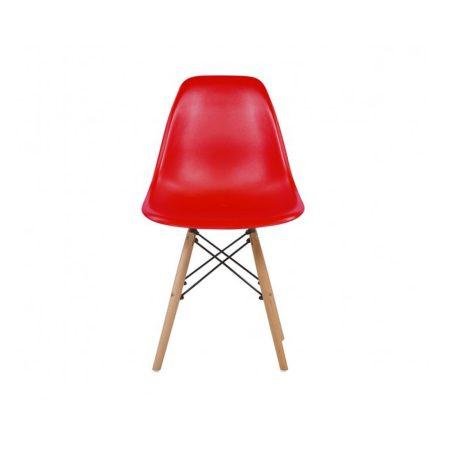 4 buc scaune moderne de bucătărie, sufragerie sau pentru exterior- roșu