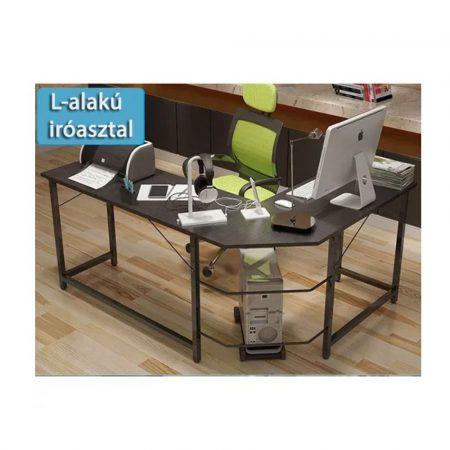 Masă colț pentru calculator sau birou - negru