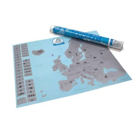 Hartă scratching eu-fa un cadou o hartă scratching ca sa inspiri pe cei din jurul tău să descopere Europa