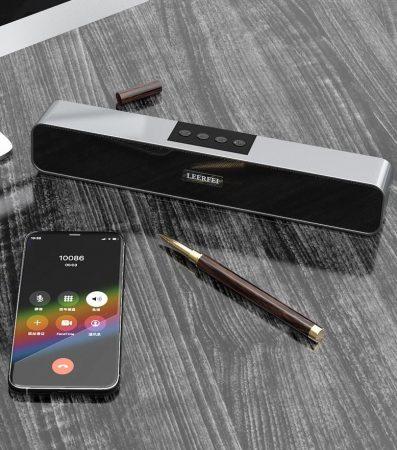 Boxă Leerfei cu Bluetooth pentru un cinema la tine acasă