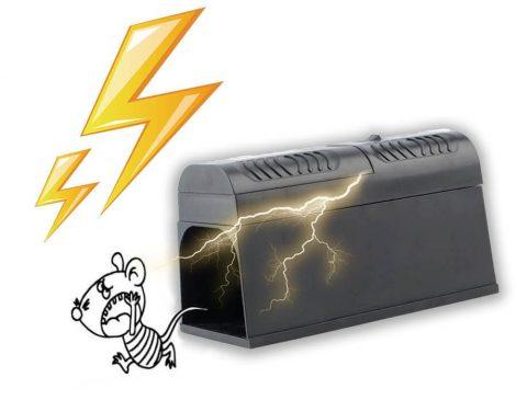 Capcană electrică pentru șoareci și șobolani