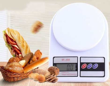 Cântar de bucătărie sf400- 10 kg-1 kg
