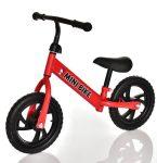 Bicicletă roșie pentru copii
