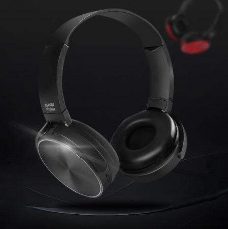 Căști Bluetooth Crispy 450TB- negru