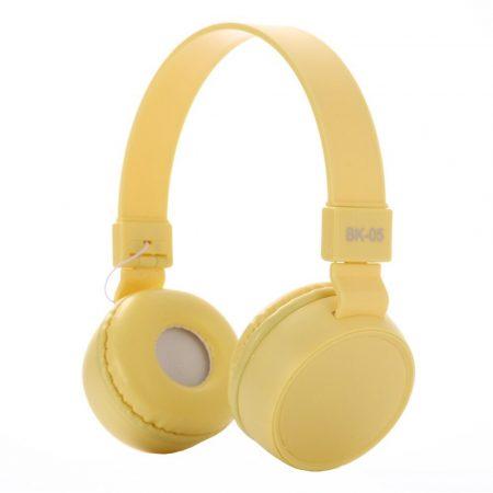 Căști Liro bk05- galben