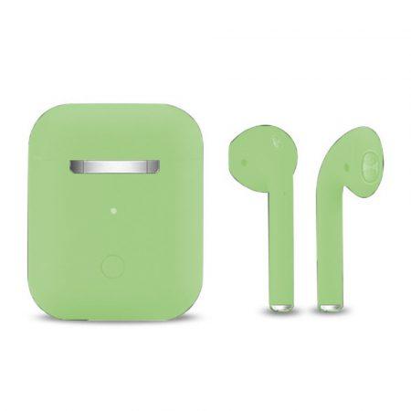 Căști Inpods 12- Macaron verde