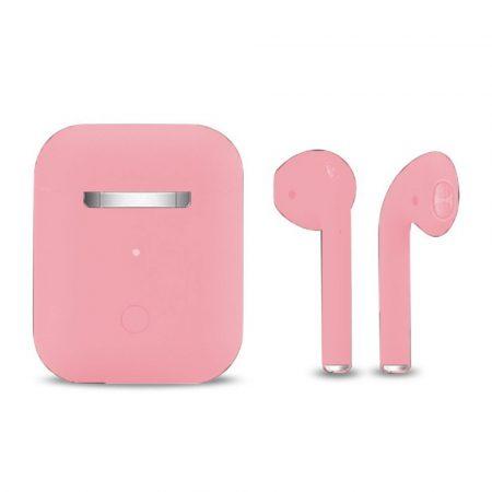 Căști Inpods 12- Macaron roz