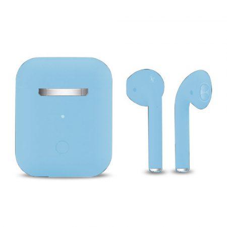 Căști Inpods 12 Macaron-albastru