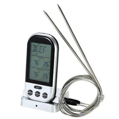 Termometru digital wireless pentru alimente
