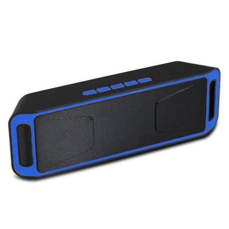 Boxă SC208 Bluetooth-albastră