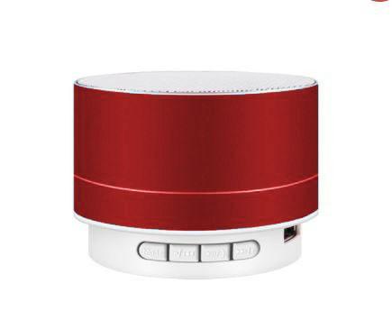 Boxă Bluetooth A10 metalică- roșie