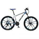 Bicicleta de munte Laux Jack cu design stelat albastru și alb