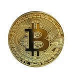 Monedă decorativă Bitcoin
