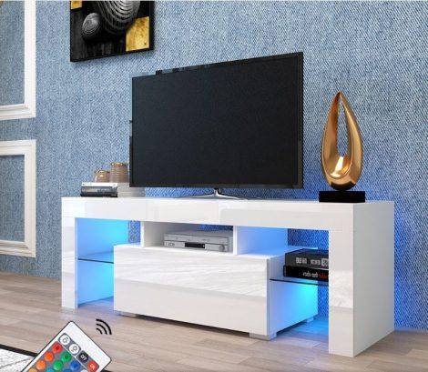Stand TV Homeland V1 - masă cu iluminare LED încorporată