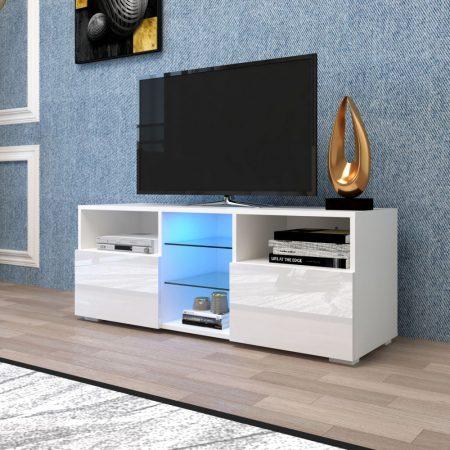 Stand TV Homeland V2 - masă cu iluminare LED încorporată